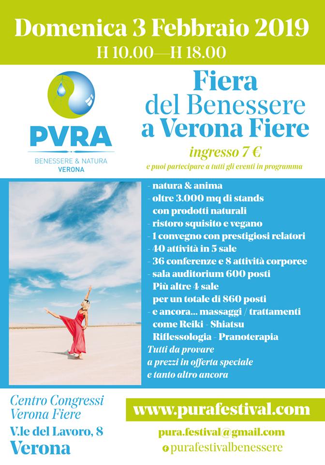 Pura Festival Verona Fiera del Beneressere