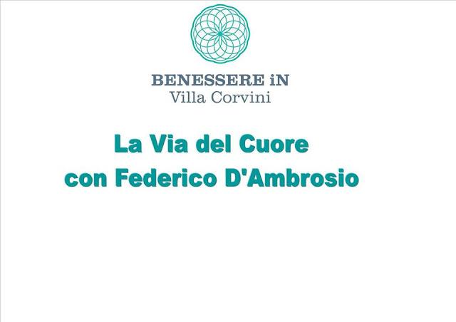 festival del benessere in Villa Corvini
