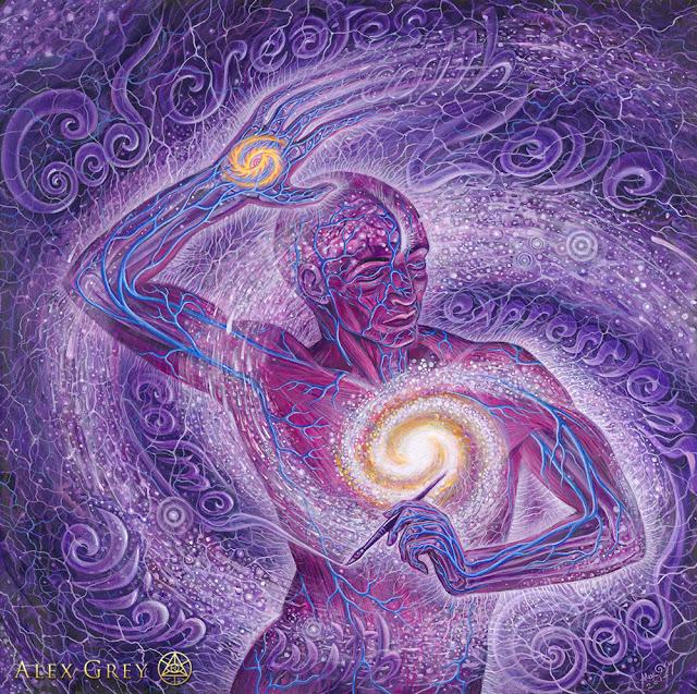alex grey, l'universo nell'uomo