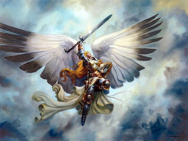 angelo, essere di luce