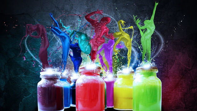 rinascita nella luce e nei colori, sfumature dell'anima