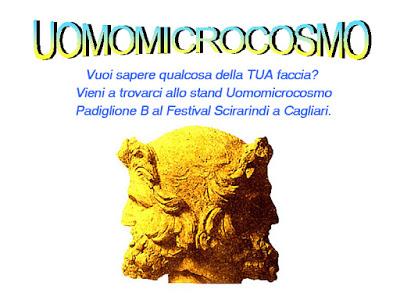 Uomomicrocosmo: Vuoi sapere qualcosa della tua faccia? vieni a trovarci allo stand Uomomicrocosmo e lo scoprirai