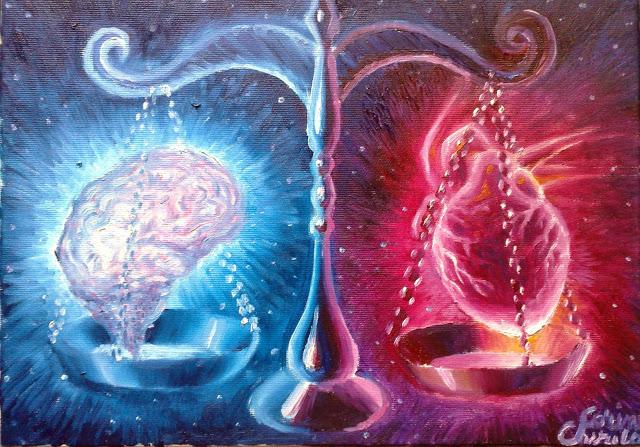 cervello e cuore