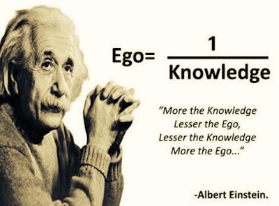ego = 1 / conoscenza