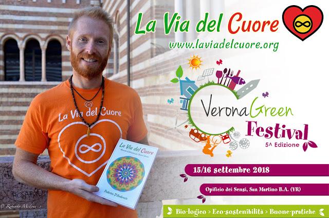 La Via del Cuore , Federico D'Ambrosio al Verona Green Festival