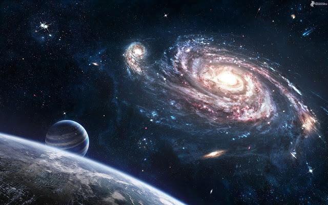 L'uomo abita nell'Universo infinito e dentro l'Uomo esiste un Universo infinito