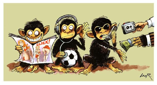 Tre scimmiette non vedo non sento non parlo