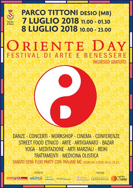 Oriente Day Festival di Arte e Benessere a Desio (MB)
