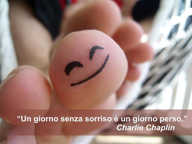 un giorno senza sorriso è un giorno perso, Charlie Chaplin