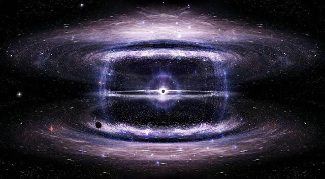 spazio in cui ci possiamo perdere è infinito... per questo dobbiamo restare in contatto con il nostro cuore