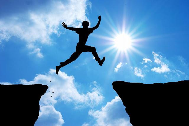 salto nel vuoto, scoperta dell'ignoto, esperienza trascendentale