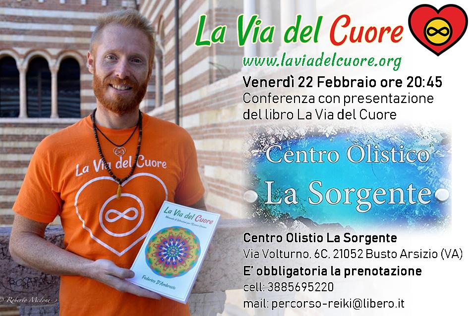 Federico D'Ambrosio La Via del Cuore Centro Olistico La Sorgente
