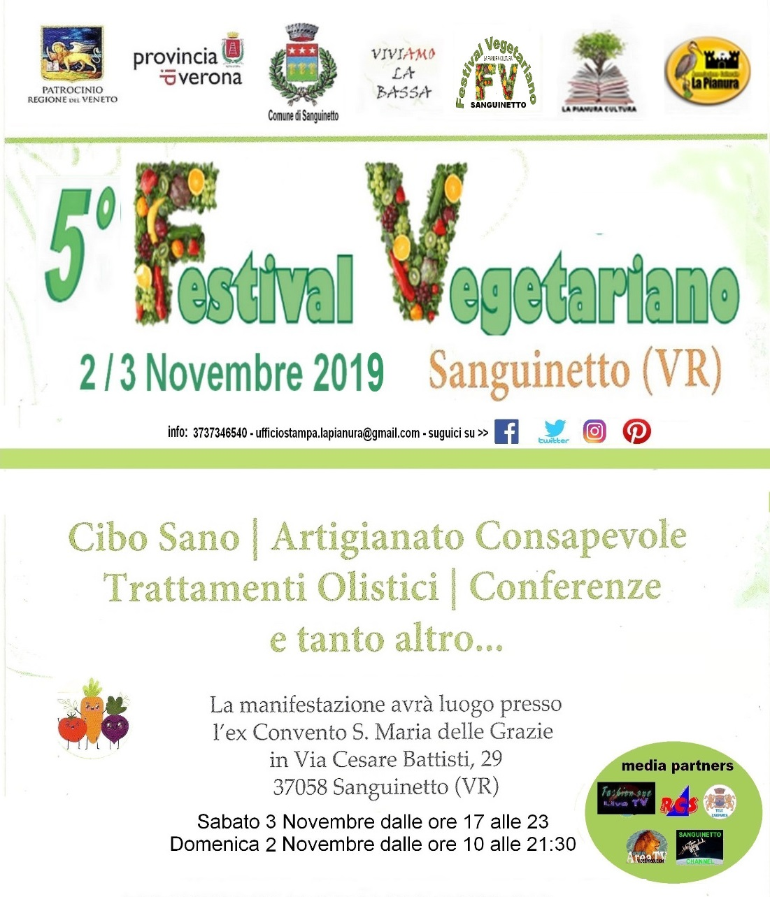 Festival Vegetariano - Sanguinetto